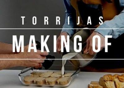 MAKING OF TORRIJAS BROLL
